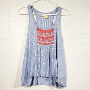 Hollister Embroidered Tank F13